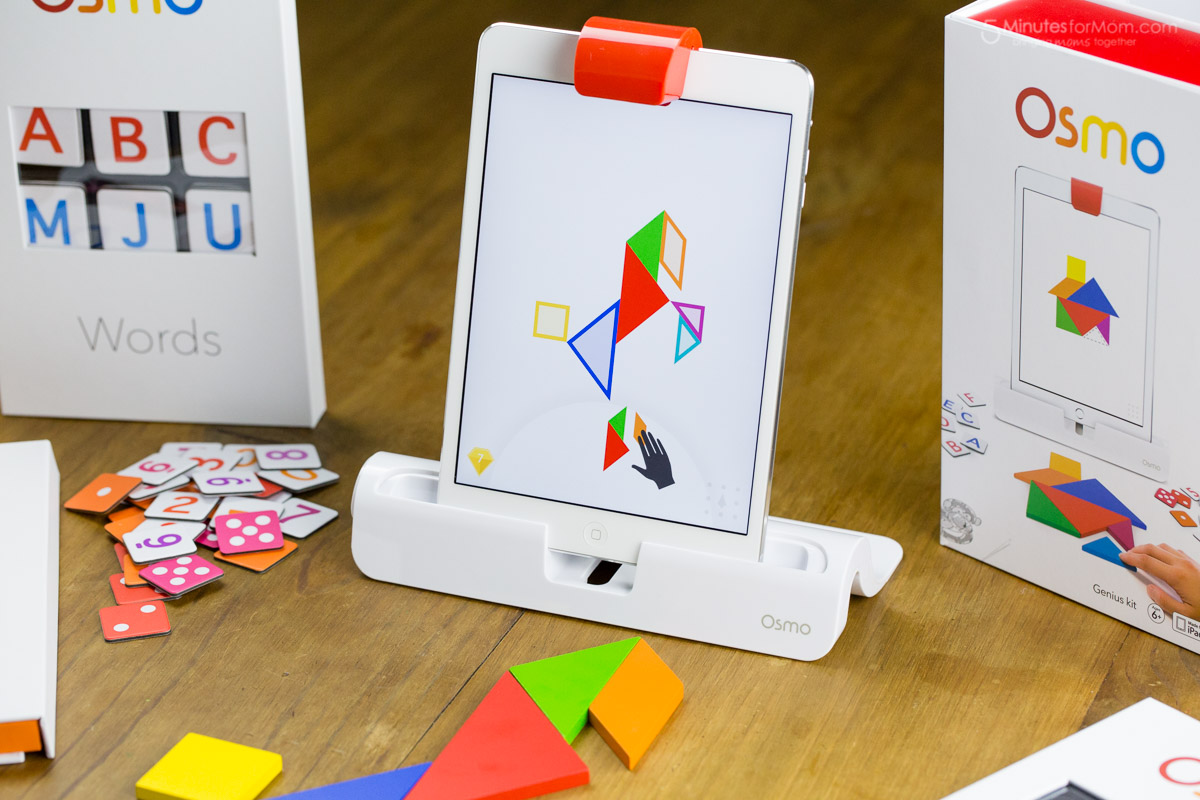 Osmo app Tangram has problem with camera detecting, even the setting is right
